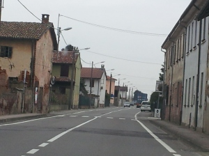 On the road in Piemonte