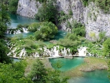 Waterlogged in Plitvice Lakes Park
