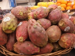 Red prickly pears