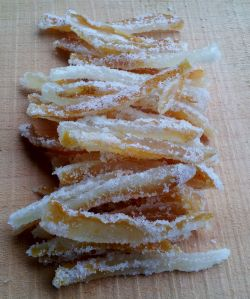 candied citron zest