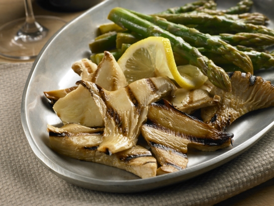 Grilled nebrodini bianco from Gourmet Mushrooms