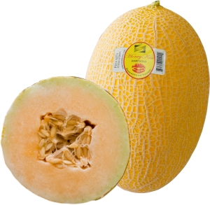 Hami melon, originally from China
