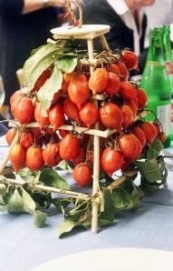 tomato centrepiece