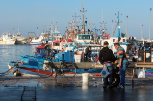 Trapani fishing boats