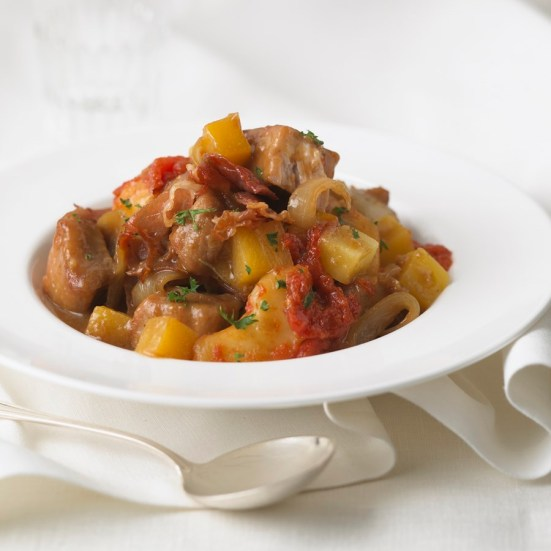 Foodland pork rutabaga apple stew