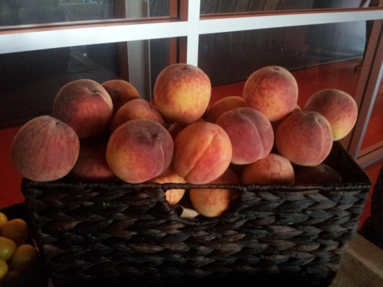 Peaches from Vineland Cooperative in Niagara