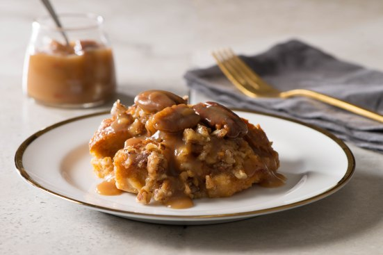 sweet-potato-pecan-bread-pudding-with-bourbon-caramel-sauce