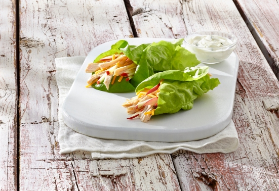 Naked Leaf lettuce wraps courtesy Mucci
