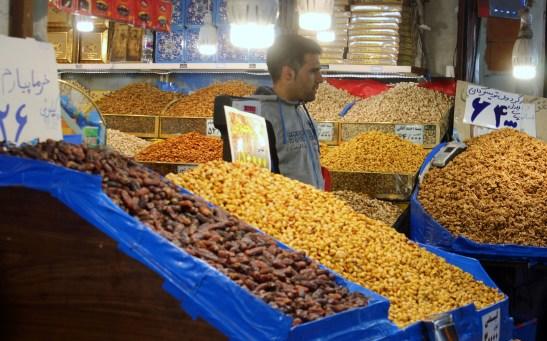 nuts at bazaar