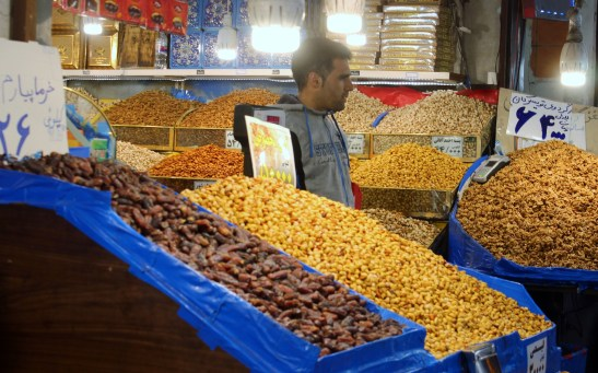 nuts at bazaar
