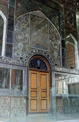 Golestan mirrored room entrance