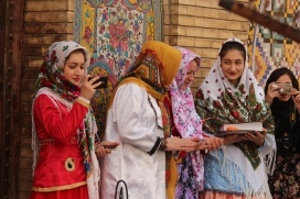 Golestan tourists