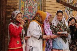 Golestan tourists