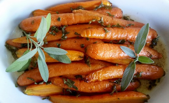 Roasted Nantes carrots