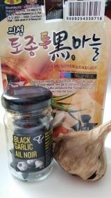 Garlic shows itsage