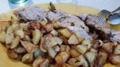 Locanda roast pork and potatoes