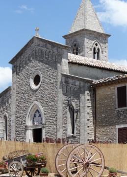 Titignano chapel