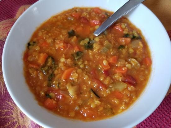 cynthia's lentil soup